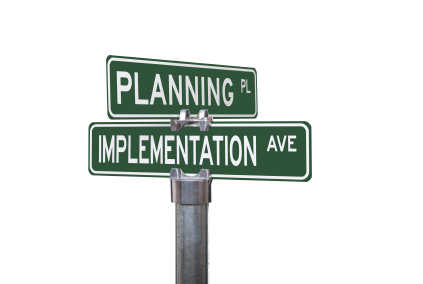 Don't get stuck on Planning and never hit Implementing